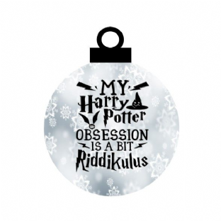 Harry Potter Fan Acrylic Bauble Christmas Ornament Decoration